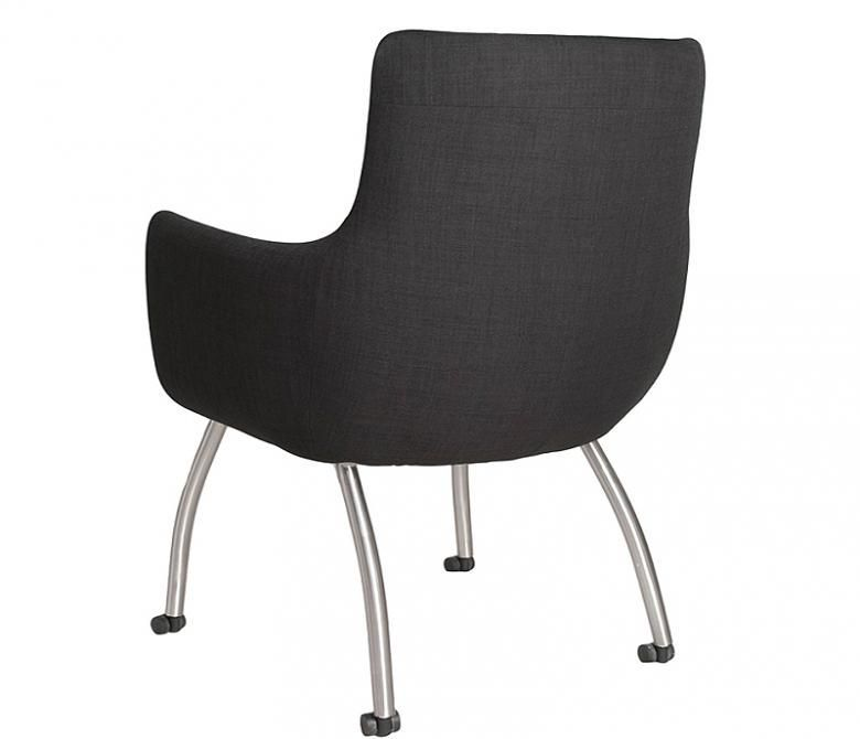 skoop rolling dining chair collier 39 s furniture expo