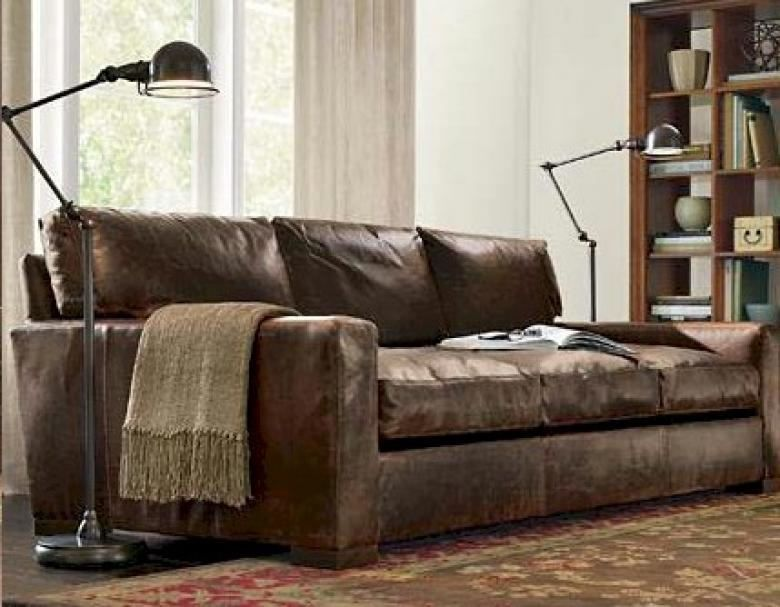 Fine Napa Maxwell Oversized Seating Leather Sofa Set Evergreenethics Interior Chair Design Evergreenethicsorg