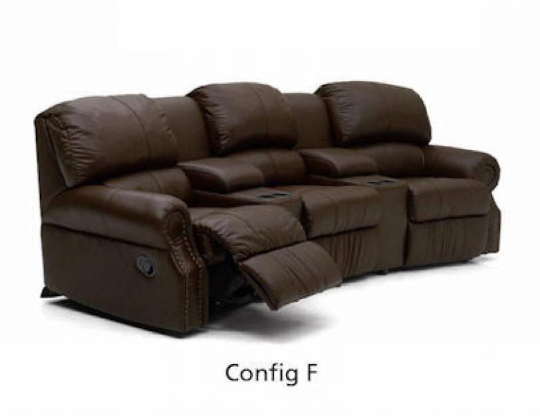Palliser Charleston Sectional Sleeper Sofa Set With