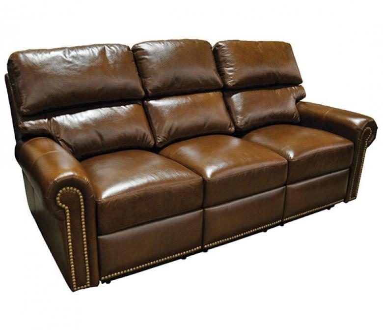 Omnia Carlton Leather Reclining Sofa Set Collier 39 S Furniture Expo