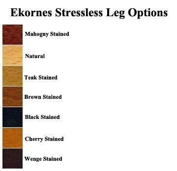 Stressless Wood Color Options