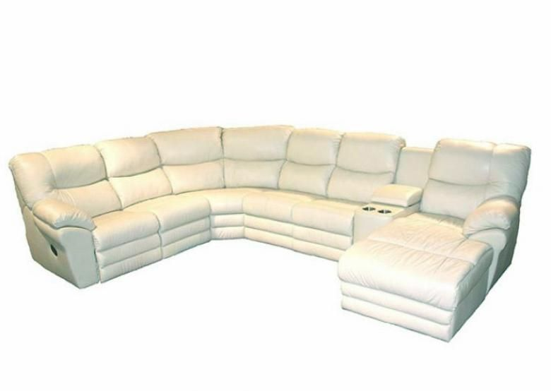 Palliser Divo Leather Reclining Sectional Collier S