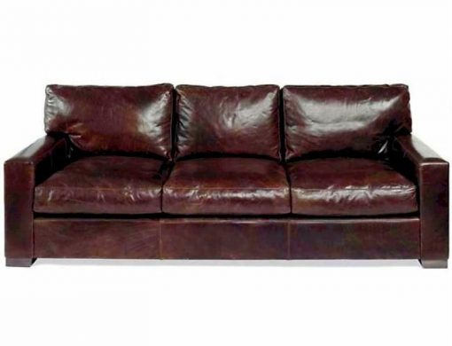 Napa Oversized Seating Leather Sofa Set