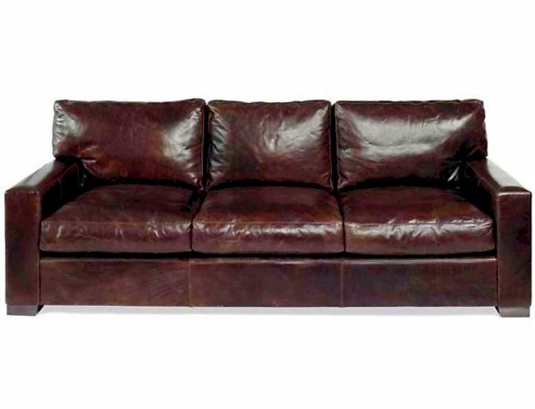 Napa maxwell oversized seating leather sofa set for Oversized sectionals