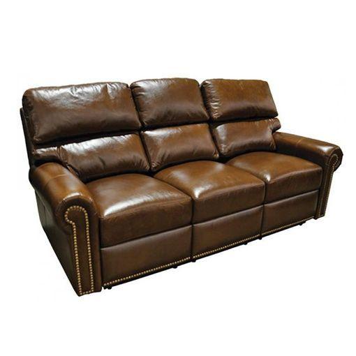 Omnia Carlton Leather Reclining Sofa Amp Set
