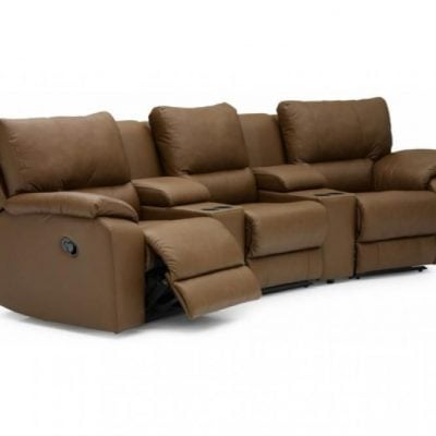 Palliser Shields Reclining Home Theater Set