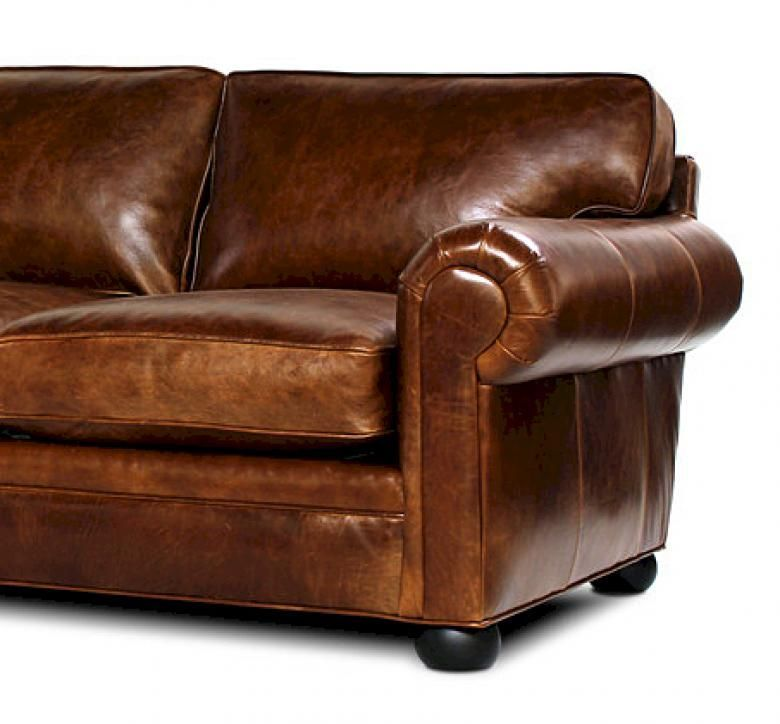 Oversized leather chairs with ottoman - Sedona Lancaster Oversized Seating Leather Sofa Amp Set