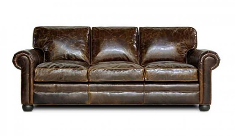 LANCASTER) OVERSIZED SEATING LEATHER SOFA & SET | Collier's Furniture