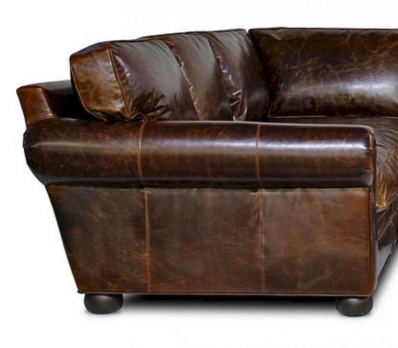 Sedona Lancaster Oversized Seating Leather Sofa Set Collier 39 S Furniture Expo