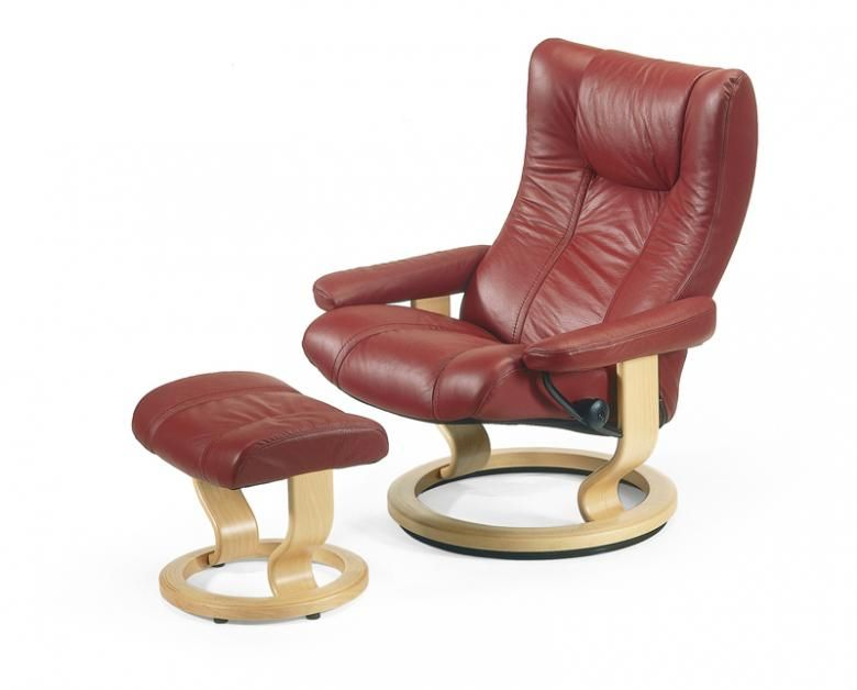 EKORNES STRESSLESS WING FAMILY Collier 39 S Furniture Expo