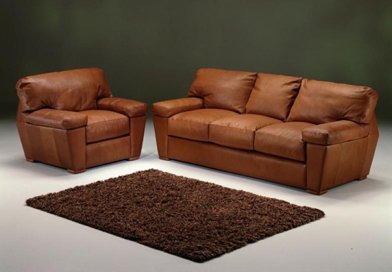 Omnia Prescott Hill Leather Sofa Set Collier 39 S Furniture Expo