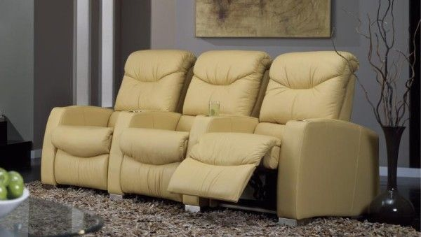 PALLISER EPYCH LEATHER HOME THEATER SEATING