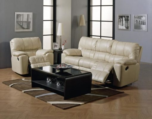 PALLISER PICARD RECLINING LEATHER SOFA & SET