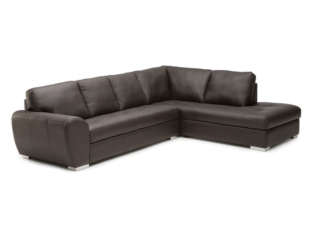 Palliser Kelowna Leather Sectional Collier 39 S Furniture Expo