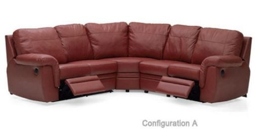 Brunswick Leather Sectional