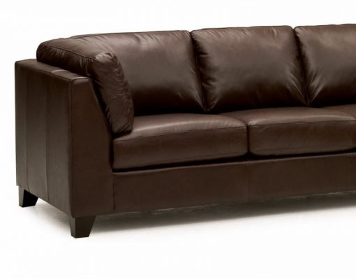 Como Leather Sectional