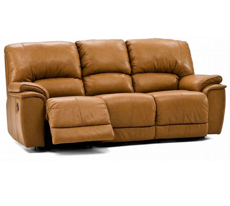 Palliser Leather Reclining Sofa Reviews: PALLISER DALLIN LEATHER RECLINING SOFA & SET