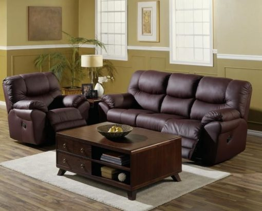 Divo Reclining Leather Set 3 Copy