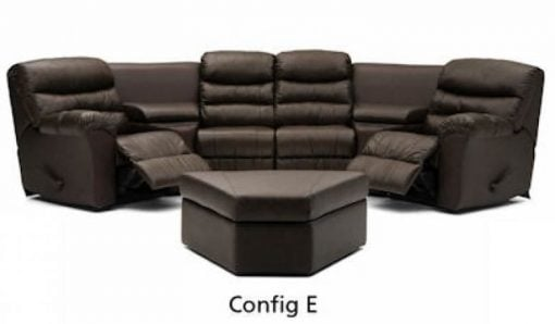 Durant Dual Recliner Sectional