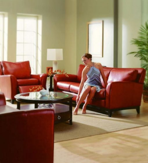 India Leather Sofa Set