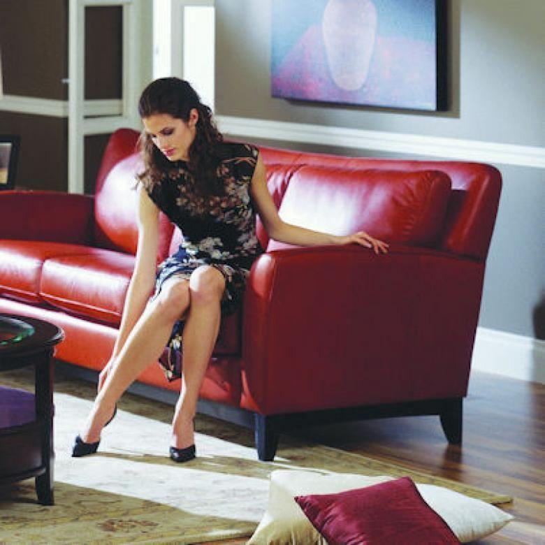 Leather Sofa Sale India: PALLISER INDIA LEATHER SOFA & SET