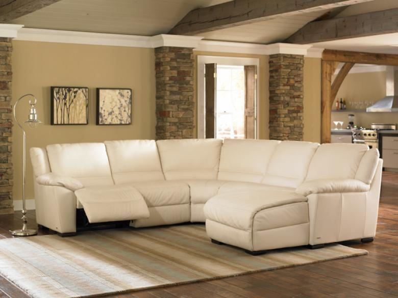 Natuzzi Editions A319 Leather Sectional Collier S
