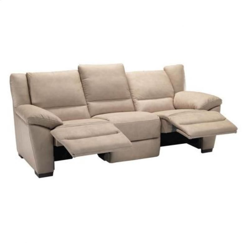 Natuzzi editions a319 leather sofa set collier39s for Natuzzi sectional sleeper sofa