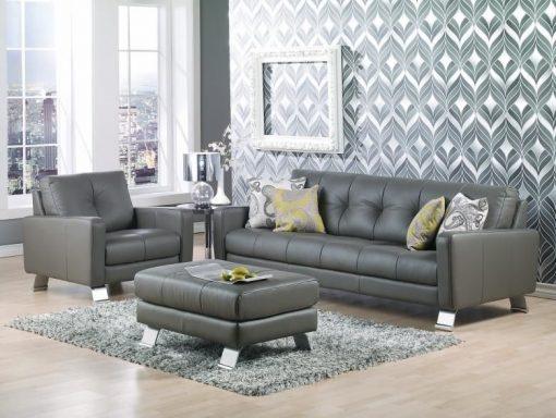 Ocean Leather Sofa Set