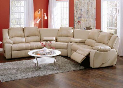 Palliser Furniture 4104 Delaney Leather Sectional