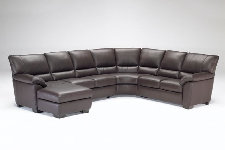 Natuzzi Editions B632 Leather Sectional Collier S