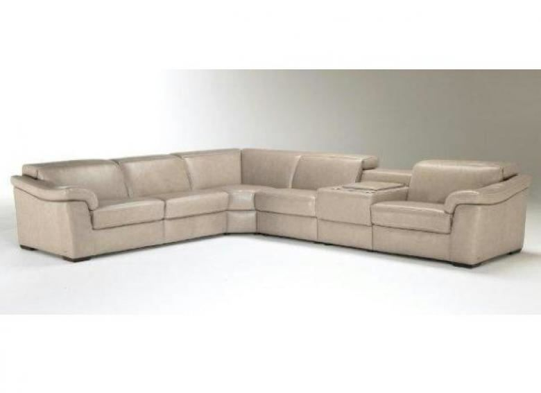 Natuzzi Editions B760 Leather Sectional Collier 39 S Furniture Expo
