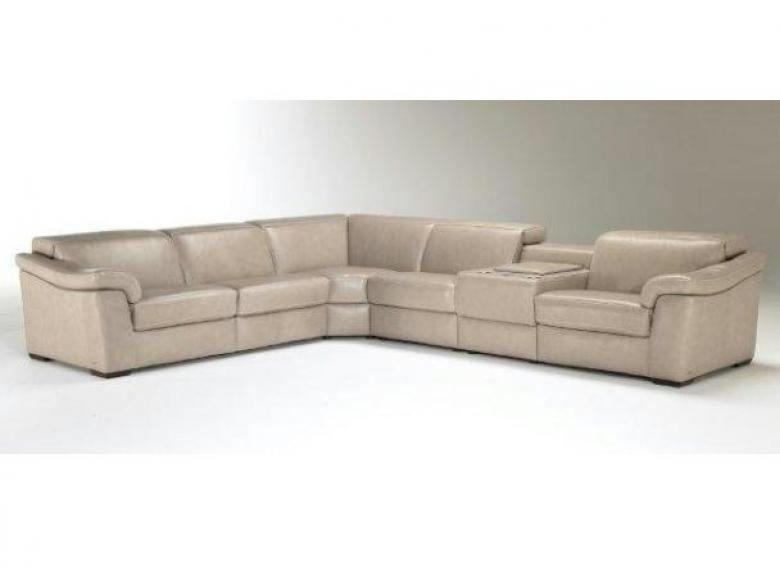 Natuzzi Editions B760 Leather Sectional