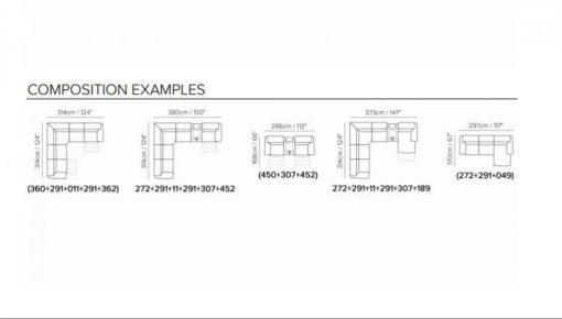Natuzzi Editions B760 Sectional