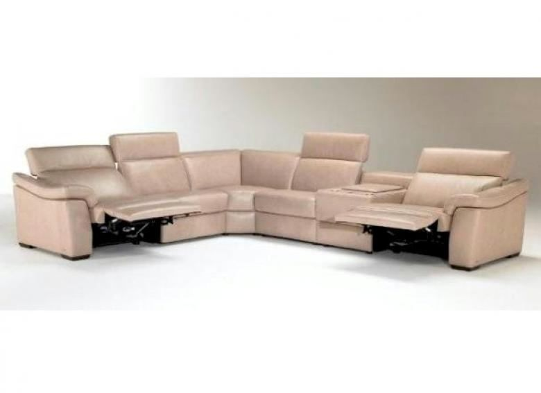 NATUZZI EDITIONS B760 LEATHER SECTIONAL | Collier's ... |Natuzzi Editions Leather Sofa