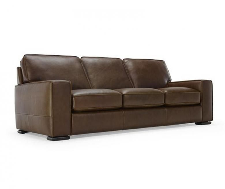 Natuzzi Editions Distressed Leather Sofa - Natuzzi Editions |Natuzzi Editions Leather Sofa