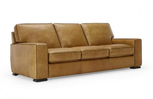 NATUZZI EDITIONS B859 LEATHER SOFA & SET