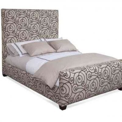 PENDANT UPHOLSTERED HEADBOARD & FOOTBOARD