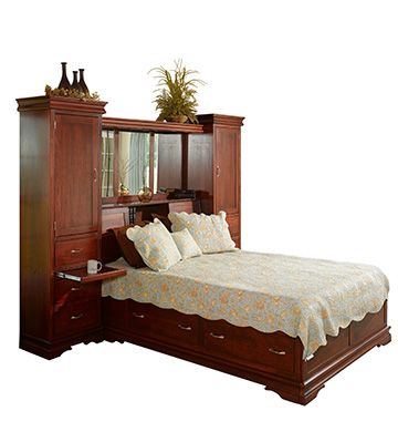 Heirloom Sleigh Tower Bed