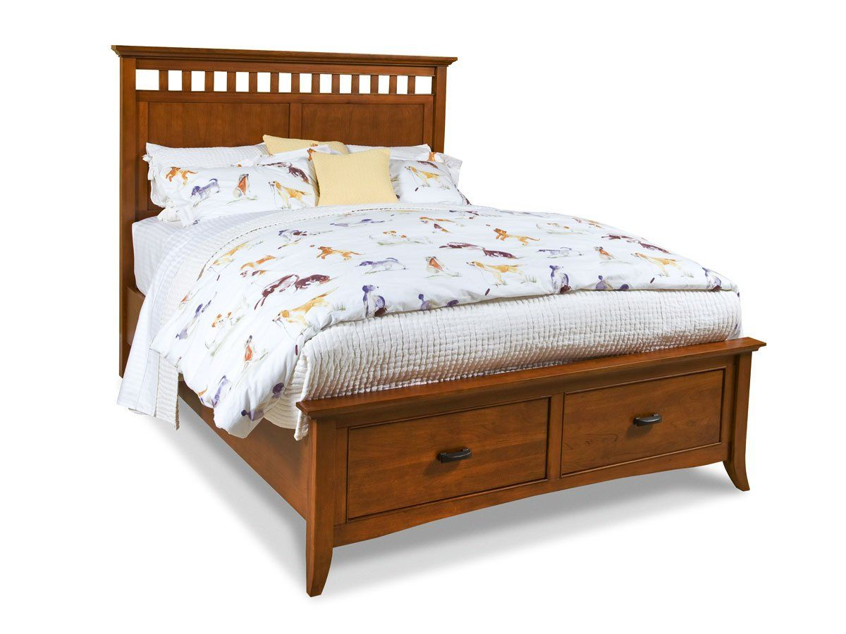 Modern Shaker Bed By Cresent Furniture