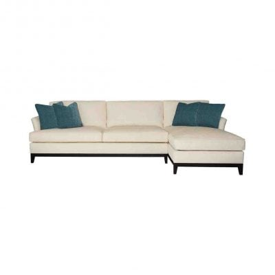 BERNHARDT PATRICK 2 PIECE SECTIONAL
