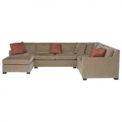 BERNHARDT KELSEY 4 PIECE SECTIONAL
