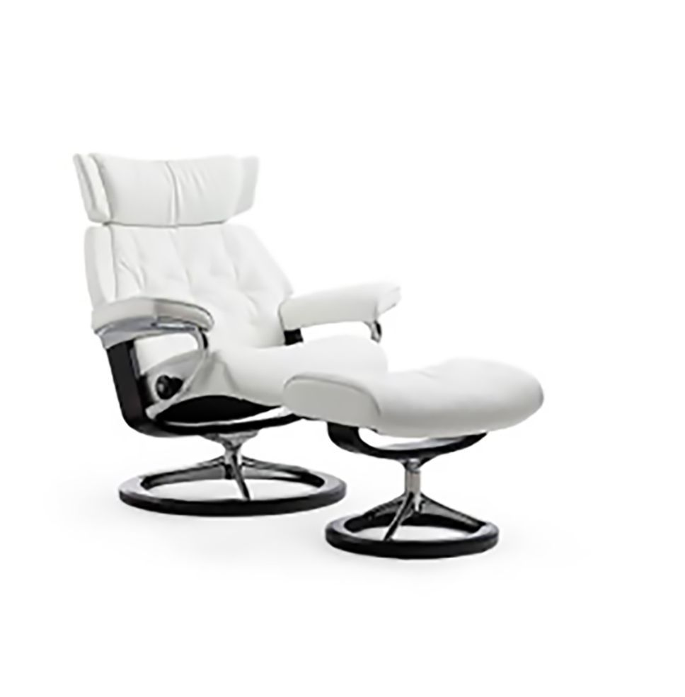 Ekornes Stressless Skyline Chair Ottoman Collier 39 S Furniture Expo