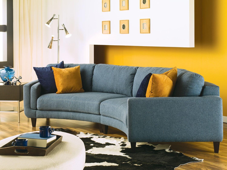 blue seine set sectional