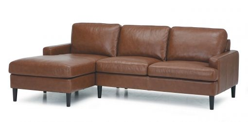 brown remington sectional