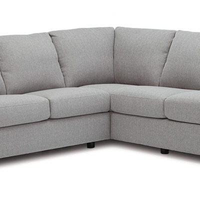 silver roberto sectional