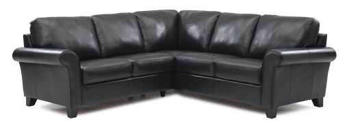 black rosebank sectional