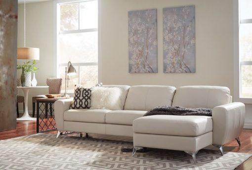 white sofa vivy sectional