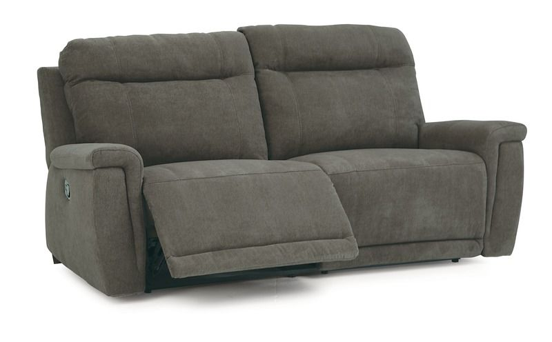 westpoint 2 sectional gray